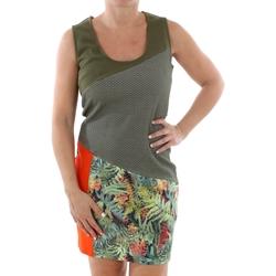 Textiel Dames Korte jurken Smash CADIZ DRESS ARMY 38 Verde