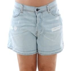 Textiel Dames Korte broeken / Bermuda's Sisley 4Z9R59206 SIS Azul claro