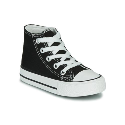 Schoenen Kinderen Hoge sneakers Citrouille et Compagnie OUTIL Zwart
