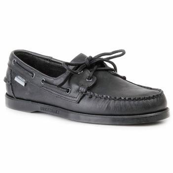 Schoenen Heren Bootschoenen Sebago DOCKSIDES Zwart