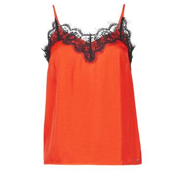 Textiel Dames Mouwloze tops Les Petites Bombes AMY Orange