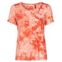 Textiel Dames T-shirts korte mouwen Les Petites Bombes BRISEIS Orange