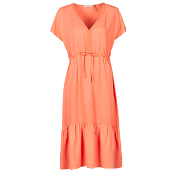 Textiel Dames Korte jurken Les Petites Bombes BRESIL Orange