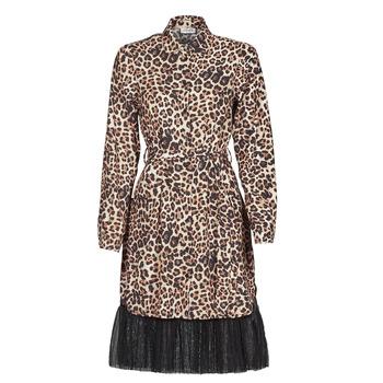 Textiel Dames Korte jurken Liu Jo WA1218-T9147-T9680 Leopard