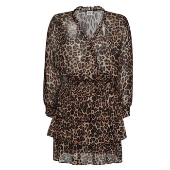 Textiel Dames Korte jurken Liu Jo WA1530-T5059-T9680 Leopard