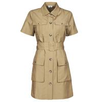 Textiel Dames Korte jurken Liu Jo WA1301-T4818-X0365 Beige
