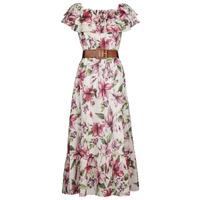Textiel Dames Lange jurken Liu Jo WA1496-T5976-T9706 Bloem