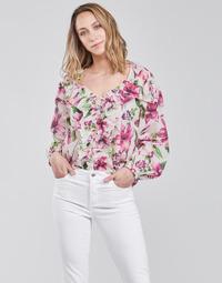 Textiel Dames Tops / Blousjes Liu Jo WA1084-T5976-T9706 Bloem