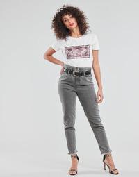 Textiel Dames Straight jeans Liu Jo KENDY Grijs
