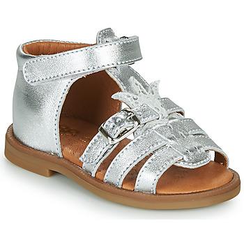 Schoenen Meisjes Sandalen / Open schoenen GBB CARETTE Zilver