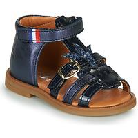 Schoenen Meisjes Sandalen / Open schoenen GBB PAULETTE Blauw