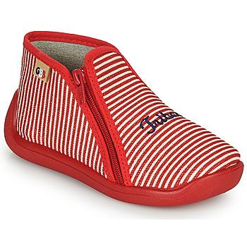 Schoenen Meisjes Sloffen GBB APOLA Rood