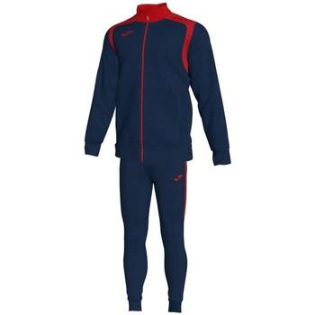 Textiel Heren Trainingspakken Joma Kampioenschap V Blauw Marien-Rood Trainingspak Blauw