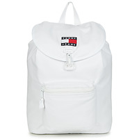 Tassen Rugzakken Tommy Jeans TJM HERITAGE FLAP BACKPACK CAN Wit