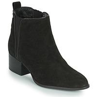 Schoenen Dames Laarzen Pepe jeans WATERLOO ICON Zwart
