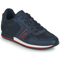 Schoenen Jongens Lage sneakers BOSS HOLLA Blauw