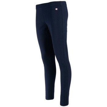 Textiel Dames Chino's Champion Skinny Fit Leggings Bleu marine
