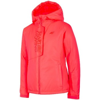 Textiel Meisjes Jacks / Blazers 4F JKUDN001 Rouge