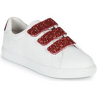 Schoenen Dames Lage sneakers Bons baisers de Paname EDITH BACK LIPS Wit