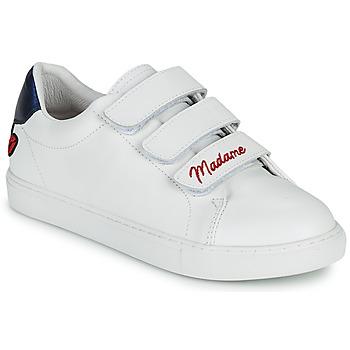 Schoenen Dames Lage sneakers Bons baisers de Paname EDITH MADAME MONSIEUR Wit