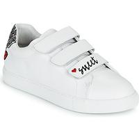 Schoenen Dames Lage sneakers Bons baisers de Paname EDITH SWEET HEART Wit