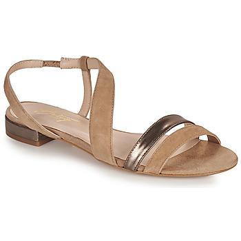 Schoenen Dames Sandalen / Open schoenen Betty London OCOLI Beige