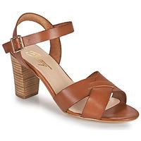 Schoenen Dames Sandalen / Open schoenen Betty London OCOLA  camel