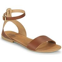 Schoenen Dames Sandalen / Open schoenen Betty London GIMY  camel