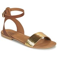 Schoenen Dames Sandalen / Open schoenen Betty London GIMY  camel / Goud