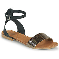 Schoenen Dames Sandalen / Open schoenen Betty London GIMY Zwart / Staal