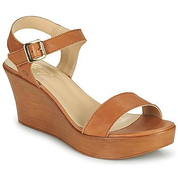 Schoenen Dames Sandalen / Open schoenen Betty London CHARLOTA  camel