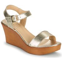 Schoenen Dames Sandalen / Open schoenen Betty London CHARLOTA Goud