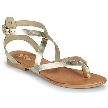 Schoenen Dames Sandalen / Open schoenen Betty London OPALACE Goud