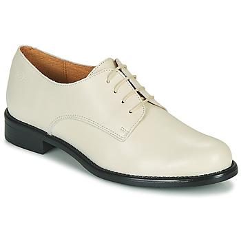 Schoenen Dames Derby Betty London OULENE Ecru