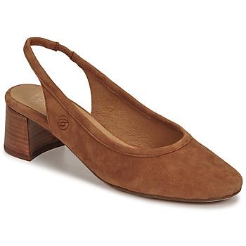Schoenen Dames pumps Betty London OMMINE Cognac