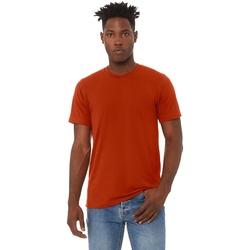 Textiel Heren T-shirts korte mouwen Bella + Canvas Triblend Baksteen Triblend