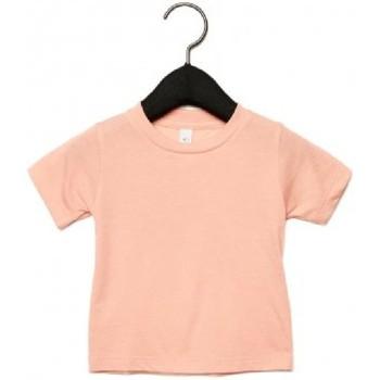 Textiel Kinderen T-shirts korte mouwen Canvas CA3413T Perzik Triblend