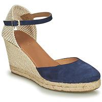 Schoenen Dames Sandalen / Open schoenen Minelli RAYANA Marine / Beige