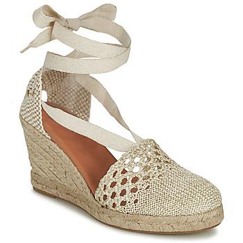 Schoenen Dames Sandalen / Open schoenen Minelli HINAU Ecru