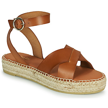 Schoenen Dames Sandalen / Open schoenen Minelli TRONUIT Brown