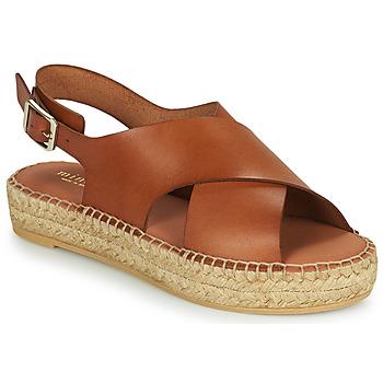 Schoenen Dames Sandalen / Open schoenen Minelli MOULTI Brown