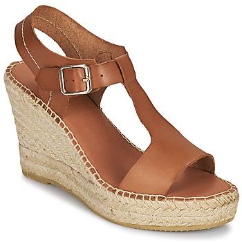 Schoenen Dames Sandalen / Open schoenen Minelli LIZZIE Brown
