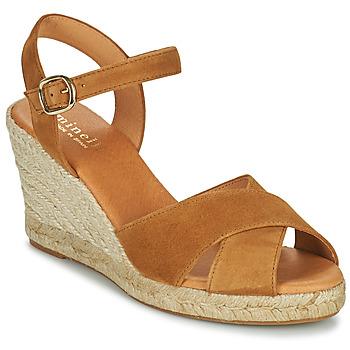 Schoenen Dames Sandalen / Open schoenen Minelli OMELLA Brown