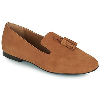 Schoenen Dames Mocassins Minelli VELICRI Brown