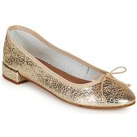Schoenen Dames Ballerina's Minelli PLIVIA Goud