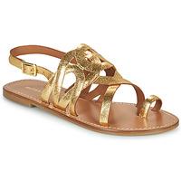 Schoenen Dames Sandalen / Open schoenen Minelli NOUNNA Goud