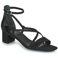 Schoenen Dames Sandalen / Open schoenen Minelli HENRIETA Zwart