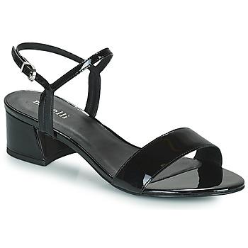 Schoenen Dames Sandalen / Open schoenen Minelli VERINA Zwart