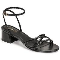 Schoenen Dames Sandalen / Open schoenen Minelli HARIETTE Zwart