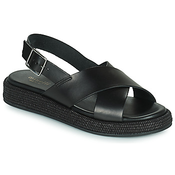 Schoenen Dames Sandalen / Open schoenen Minelli HADDIA Zwart
